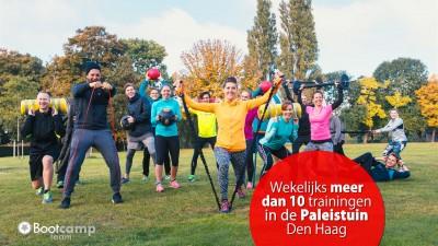 Sport op dinsdag in de Paleistuin!