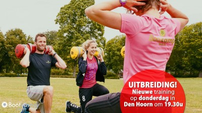Nieuwe training in Den Hoorn op donderdag.
