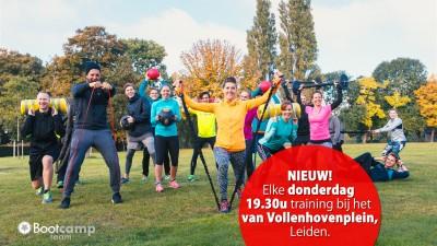 Nu ook op donderdagavond training in Leiden!