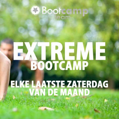 NIEUW! Extreme Bootcamp Special!