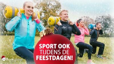 Sporten tijdens de feestdagen.