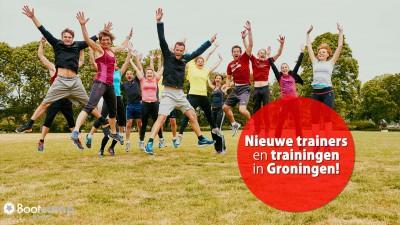 Nieuwe trainingen en trainers in Groningen.