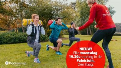 Woensdag avond training in de Paleistuin