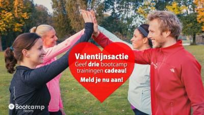 Bootcamp Team Valentijnsactie!