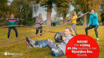 Nu ook op vrijdag training in Rijswijk!