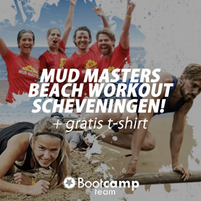 Doe mee aan de Mud Masters Beach Workout!
