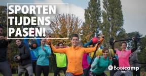 Sporten tijdens Pasen!