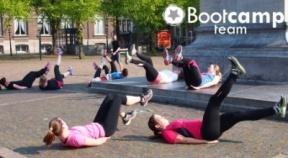 Nieuwe Bootcamp Team training in Den Haag