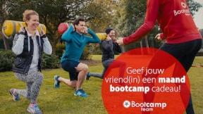Geef een maand bootcamp cadeau en ontvang een t-shirt!