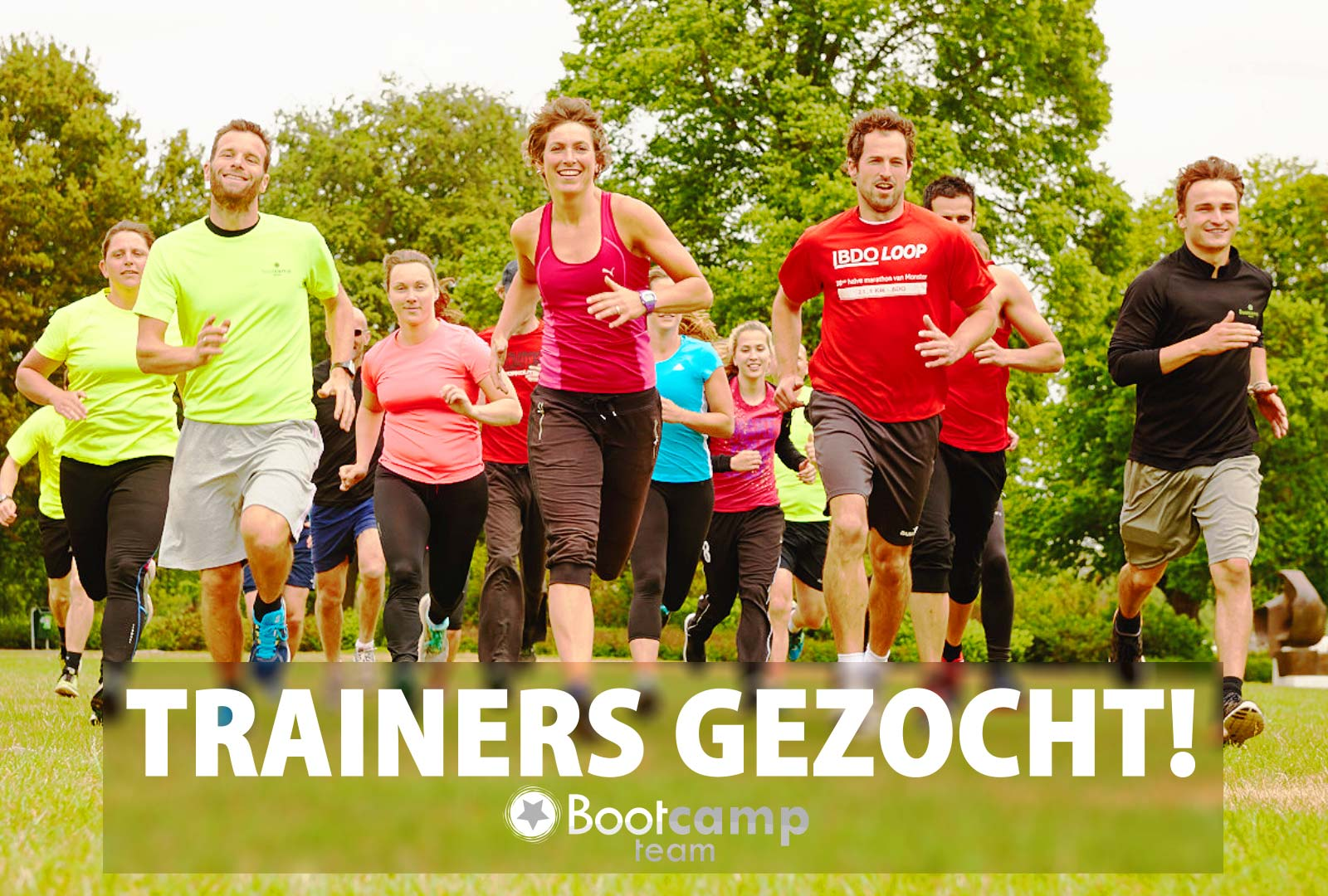 Bootcamp Team zoekt trainers!